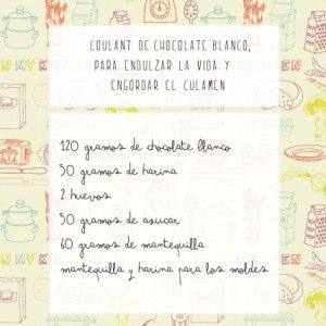Cooking Experience: Coulant de chocolate blanco