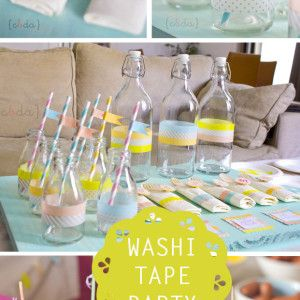Washi tape party!